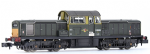 E84509 EFE  Rail	Class 17 D8600 BR Green (Small Yellow Panels) [Weathered]